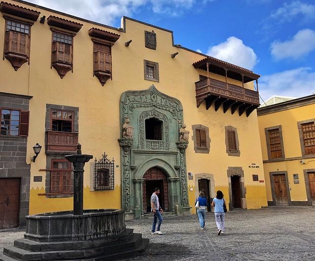Casa Museo de Colón en la Plaza del Pilar Nuevo (Un imprescindible que ver en Las Palmas de Gran Canaria)