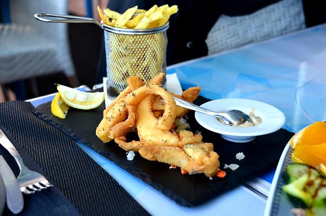 Choco frito, fried cuttlefish