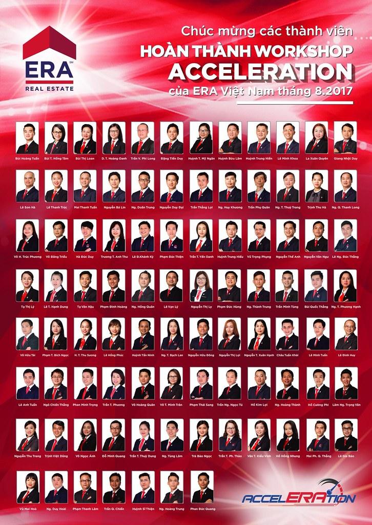 111 thành viên đầu tiên của ERA Vietnam