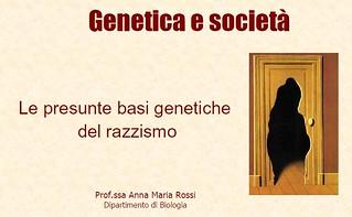 Genetica e società