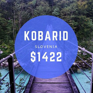 Kobarid Slovenia $1422 mo