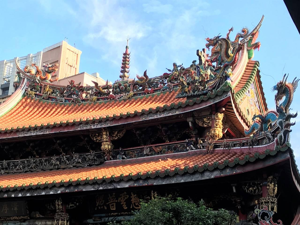 台湾・台北 龍山寺