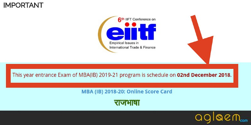 IIFT 2019 Exam to be held on December 02, 2018; Know complete details here