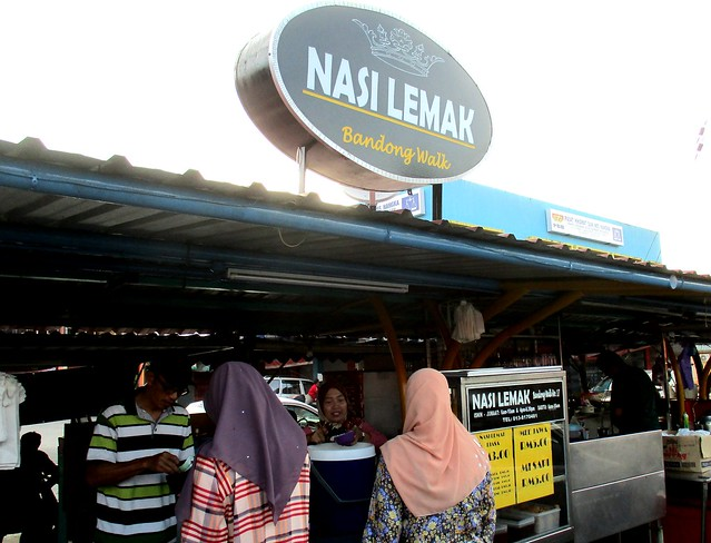 Nasi Lemak Bandong Walk, stall
