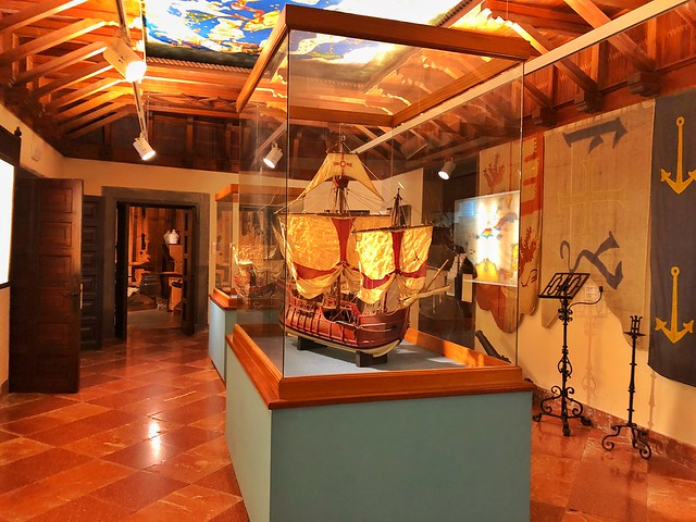 Interior de la Casa de Colón en Las Palmas de Gran Canaria