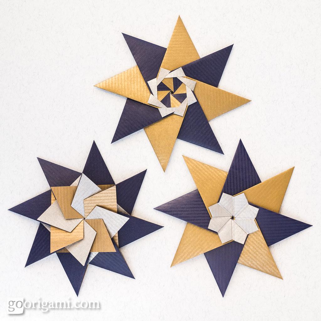 Modular Origami Stars   Modular Origami Stars (Maria ... - photo#41