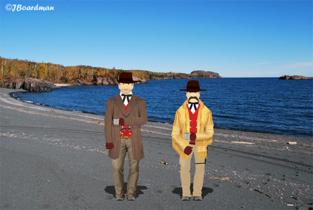 Near Silver Bay—two arrived—one left ©JBoardman