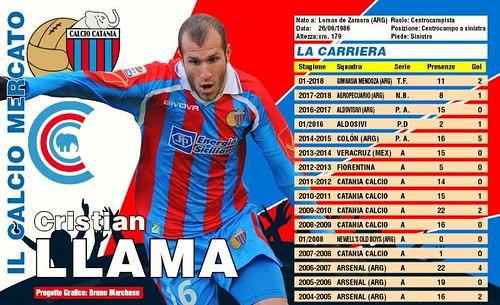 UFFICIALE: Llama torna al Catania$