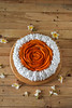 Thumbnail image for Eggless Chocolate Mango Rose Cake