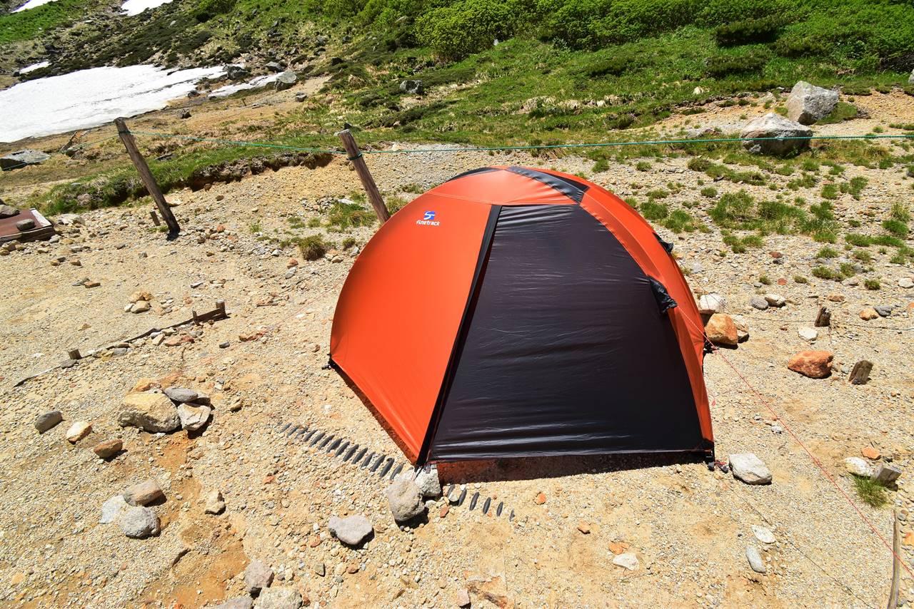 双六小屋テント泊