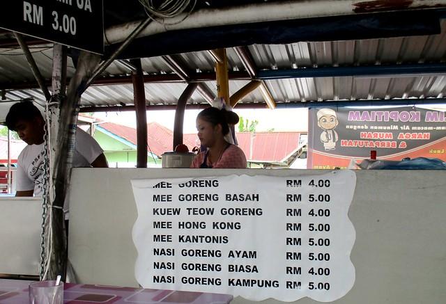 Bandong Walk noodles stall