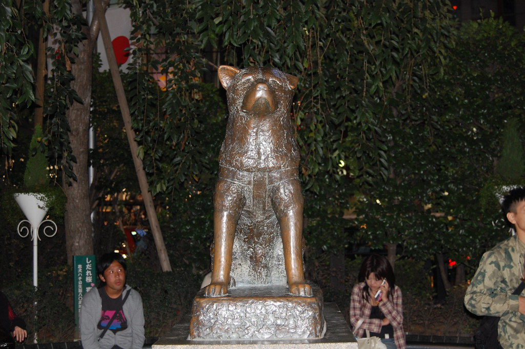 Hachiko en Shibuya