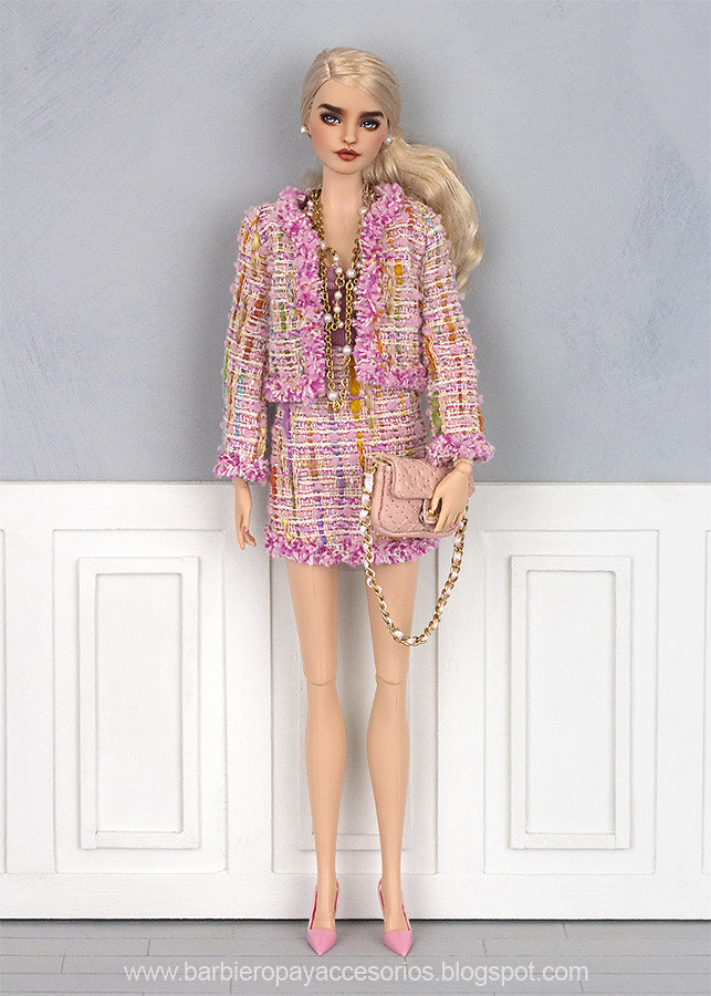 Chanel style Barbie doll