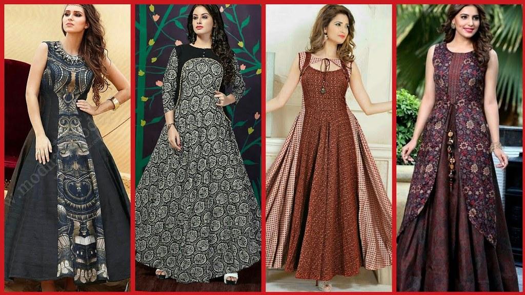 Latest top stylish long frocks designs for girls 2018 Wedding dress design jobs