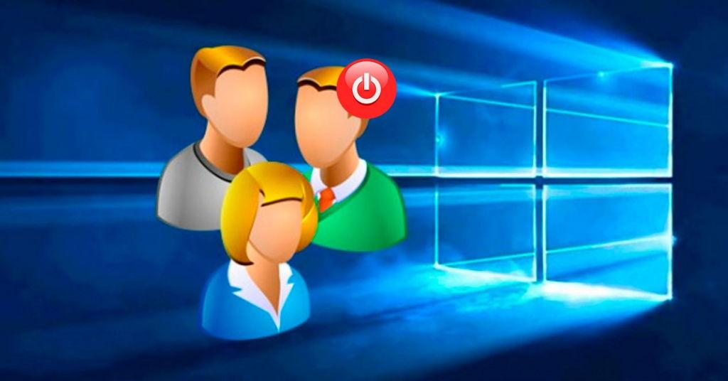 Cómo cerrar la sesión de otro usuario en Windows 10