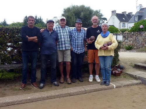 15/08/2018 - Saint Jean du Doigt : Concours de boules plombées en triplette formée