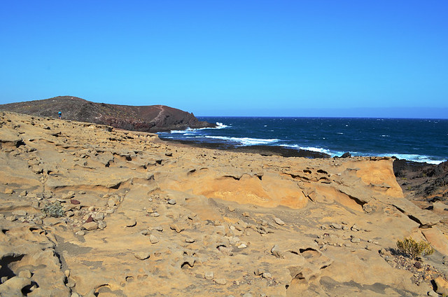 Montana Roja, El Medano, Tenerife