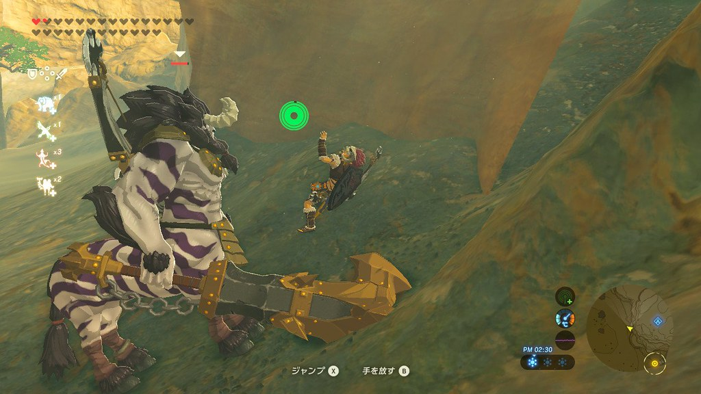 The Legend of Zelda: Breath of the Wild's Link vs. Lynel in the Underworld