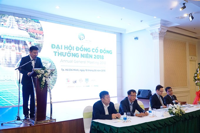 Đại hội cổ đông Bamboo Capital thường niên 2018