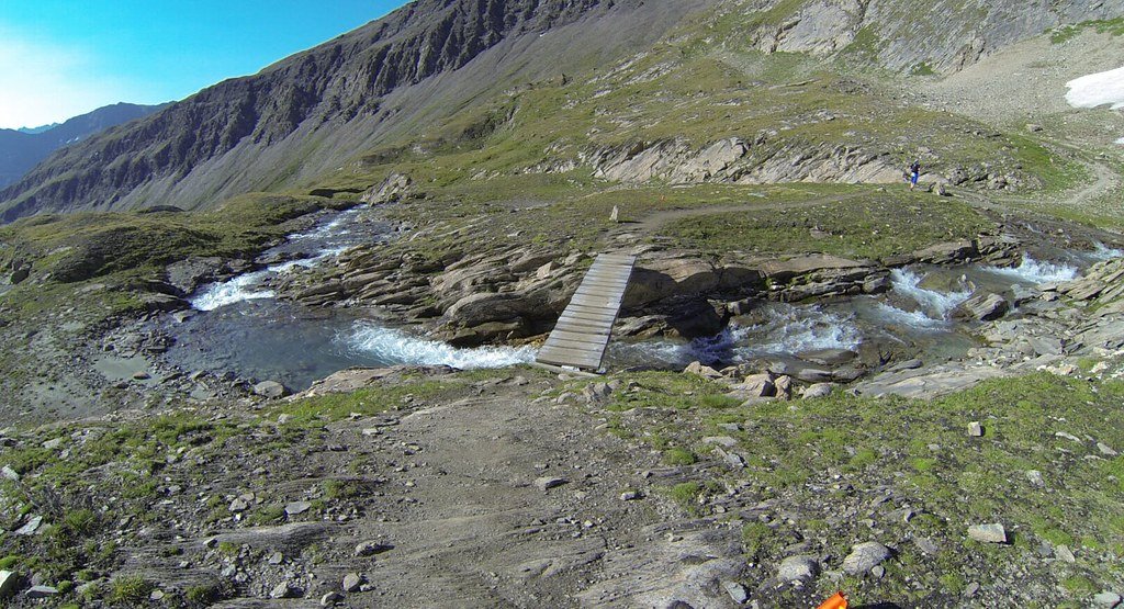 ... wooden bridges...