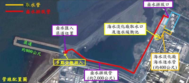 截取自麥寮海水淡化廠新建工程環境影響說明書