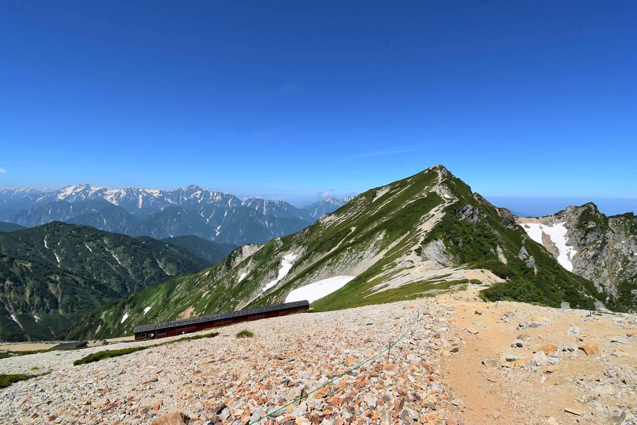 唐松岳と立山連峰~剱岳