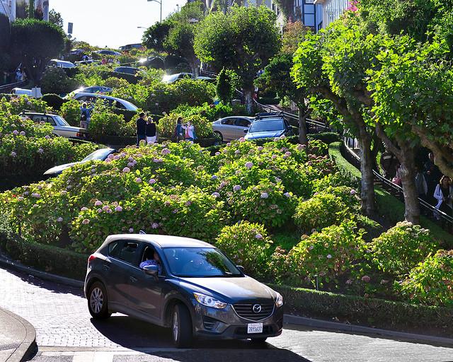 Lombardt Street la calle más famosa que ver en San Francisco