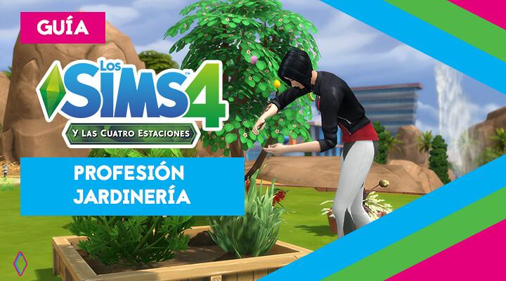 Profesión de jardinería en Los Sims 4: guía completa