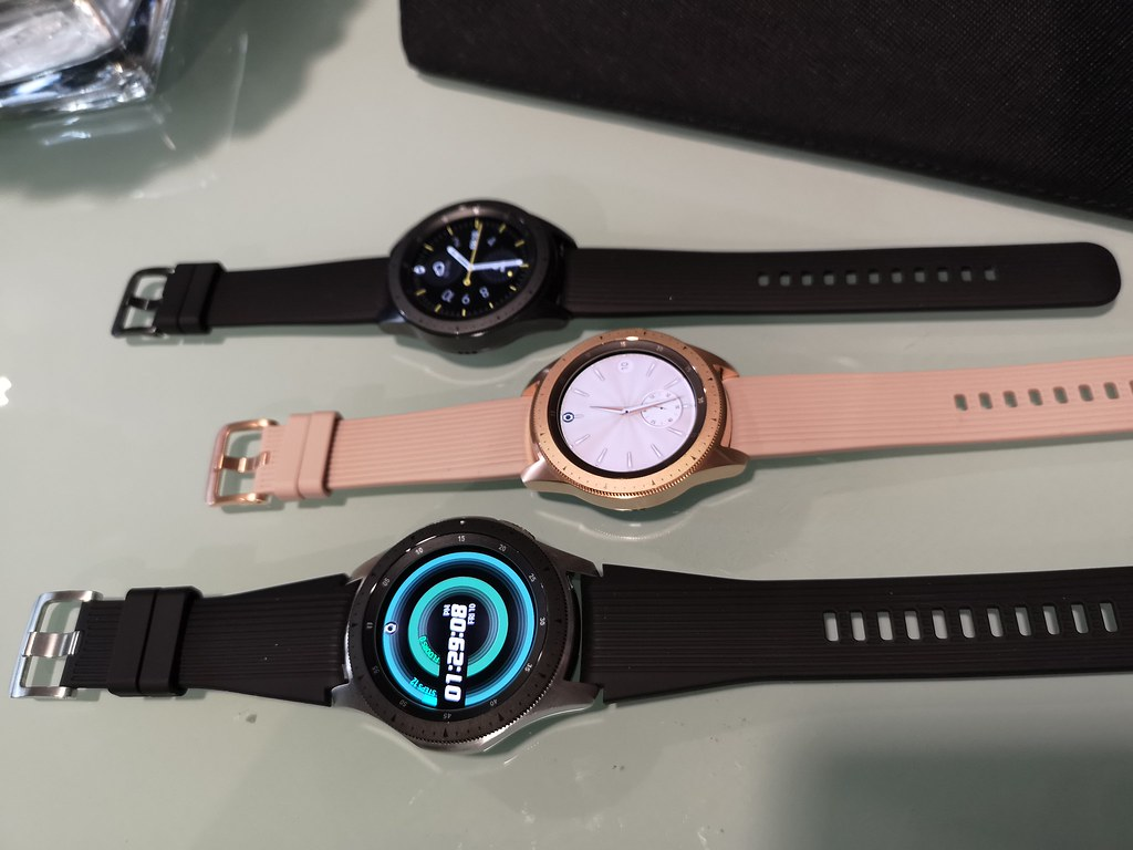 The Samsung Galaxy Watch comes in three new colour finishes.