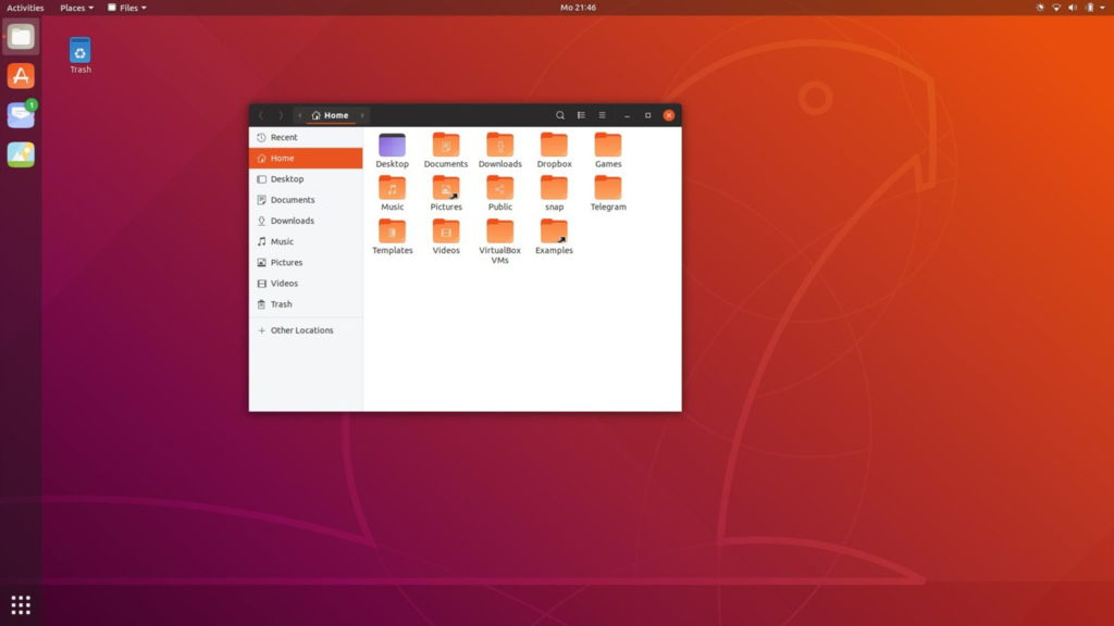 here-s-the-new-login-screen-of-ubuntu-18-10-cosmic-cuttlefish-using-yaru-theme