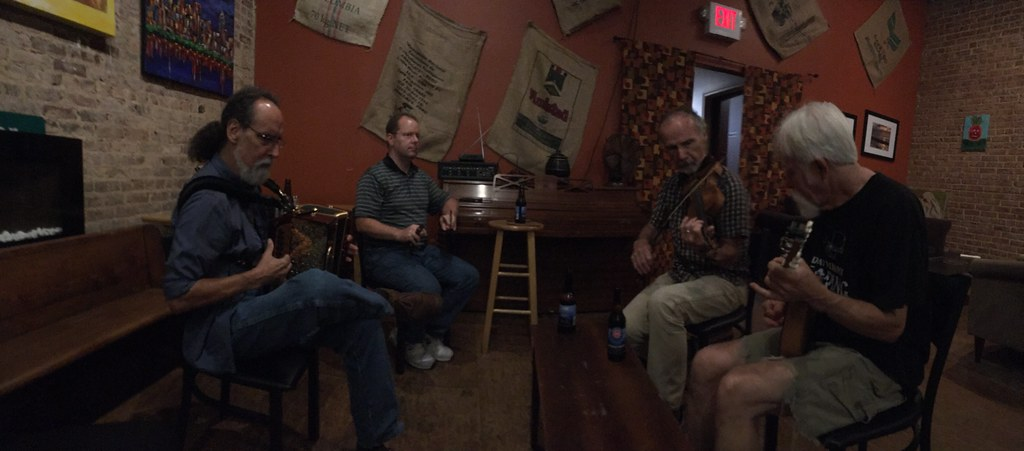 Finding Irish Music in South Carolina