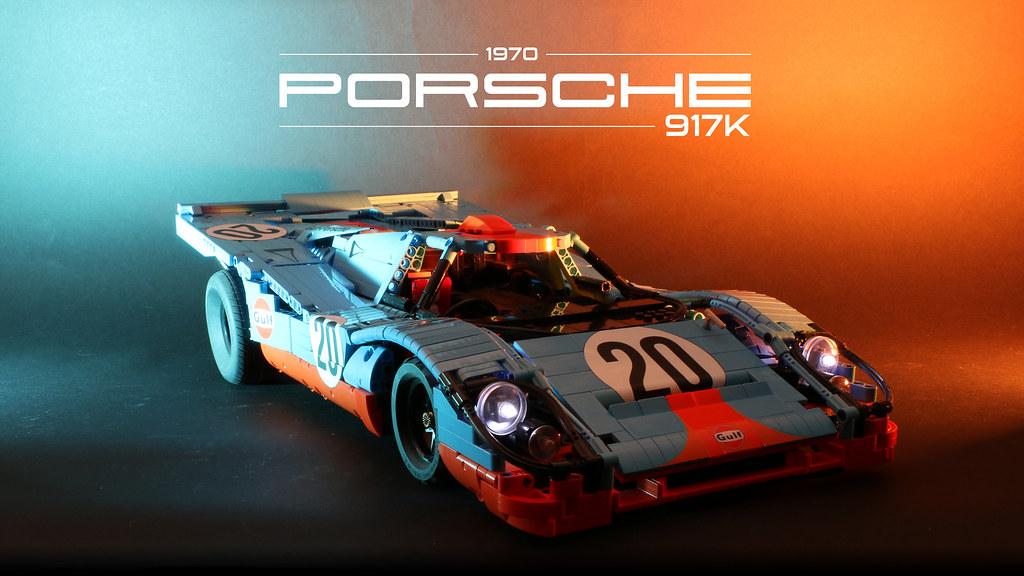 This LEGO Technic RC Porsche 917K will really get your motor running [Video]