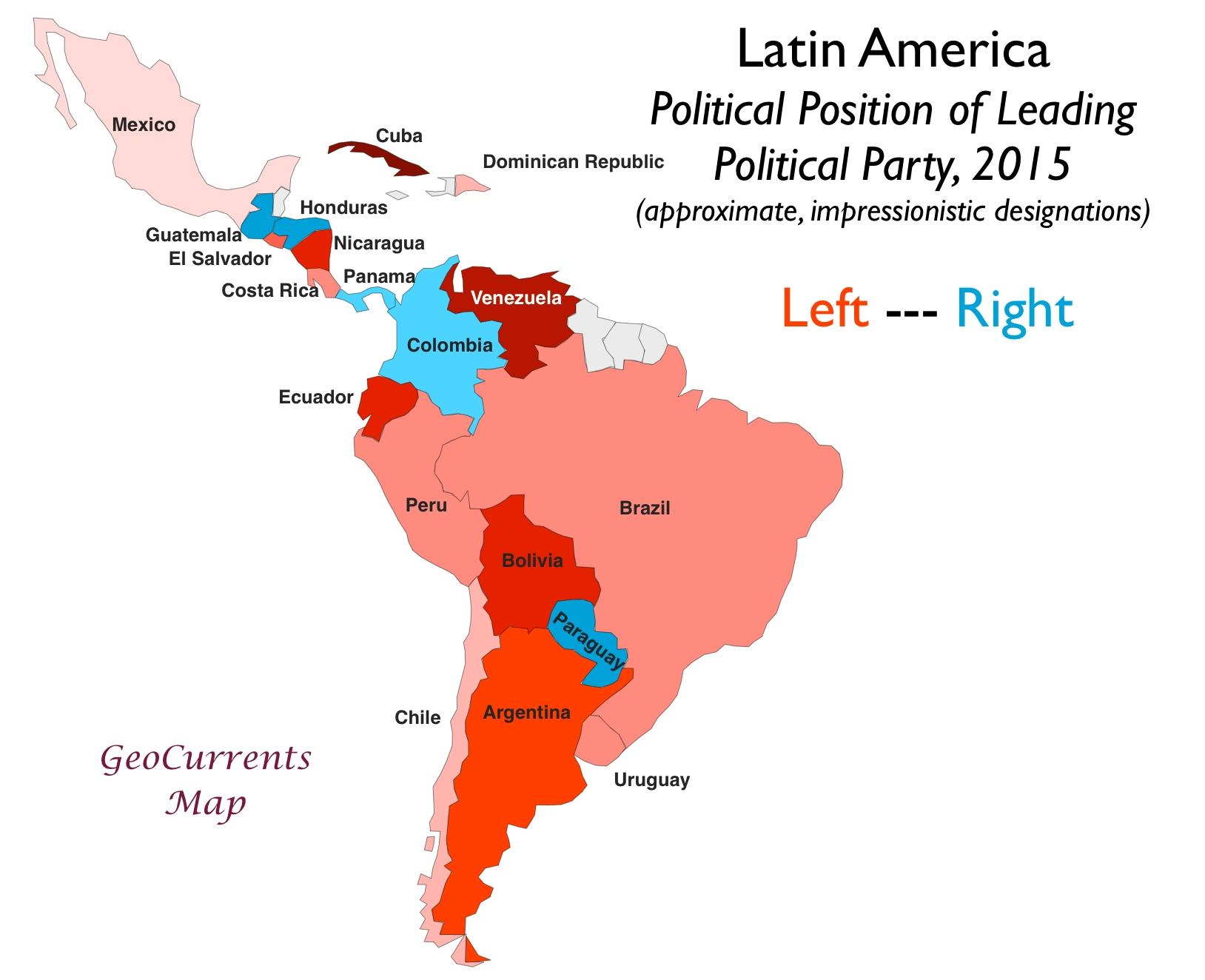 拉丁美洲的粉红浪潮。
