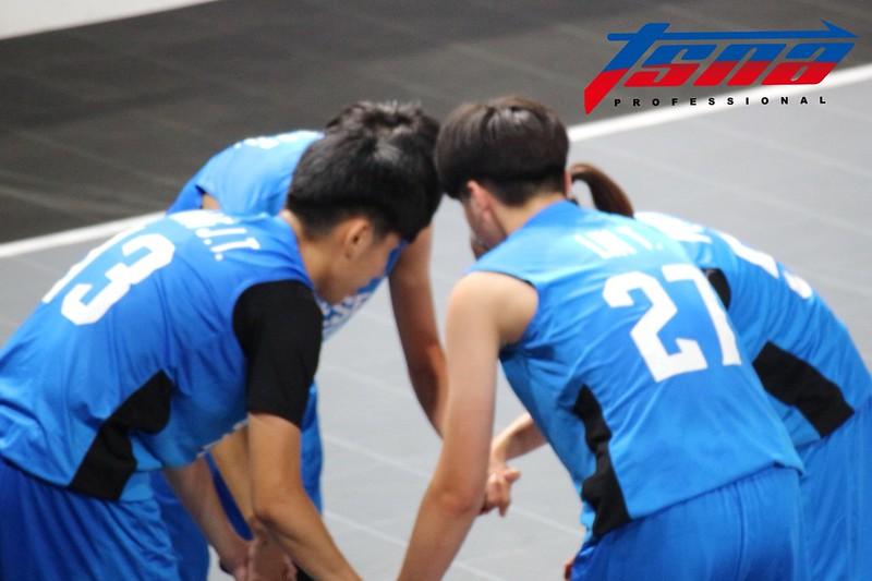 亞運三對三,中華女籃。(李心筠/攝)