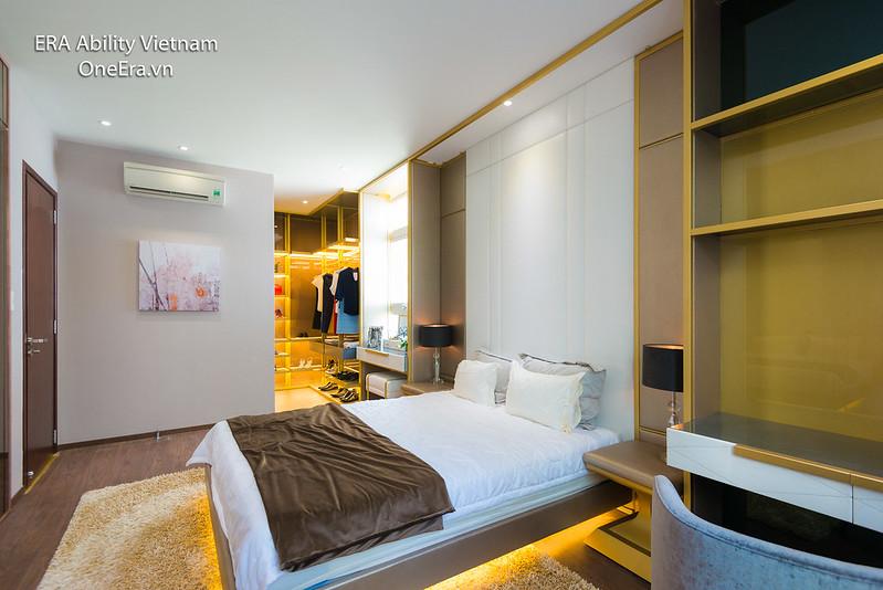 Phòng ngủ master Căn hộ mẫu 2 phòng ngủ Jamona Heights 2