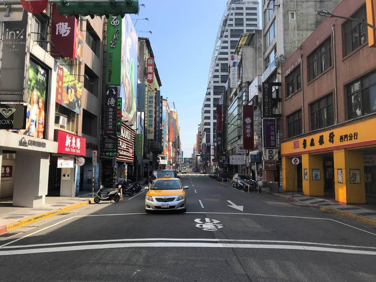 台湾・西門町