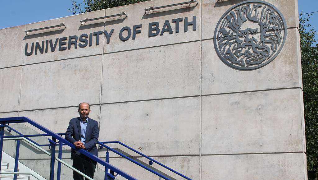 New UACES Chair and Head of PoLIS, Dr Nick Startin on the University of Bath campus