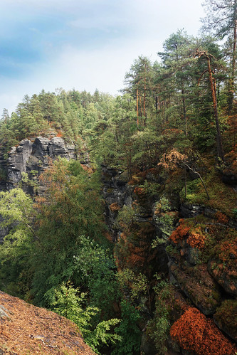 colorful Bohemian Switzerland
