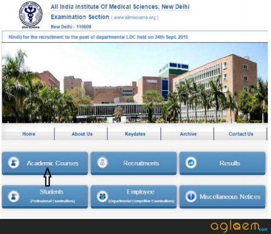 AIIMS 2019 Application Form (aiimsexams.org)   Check Here
