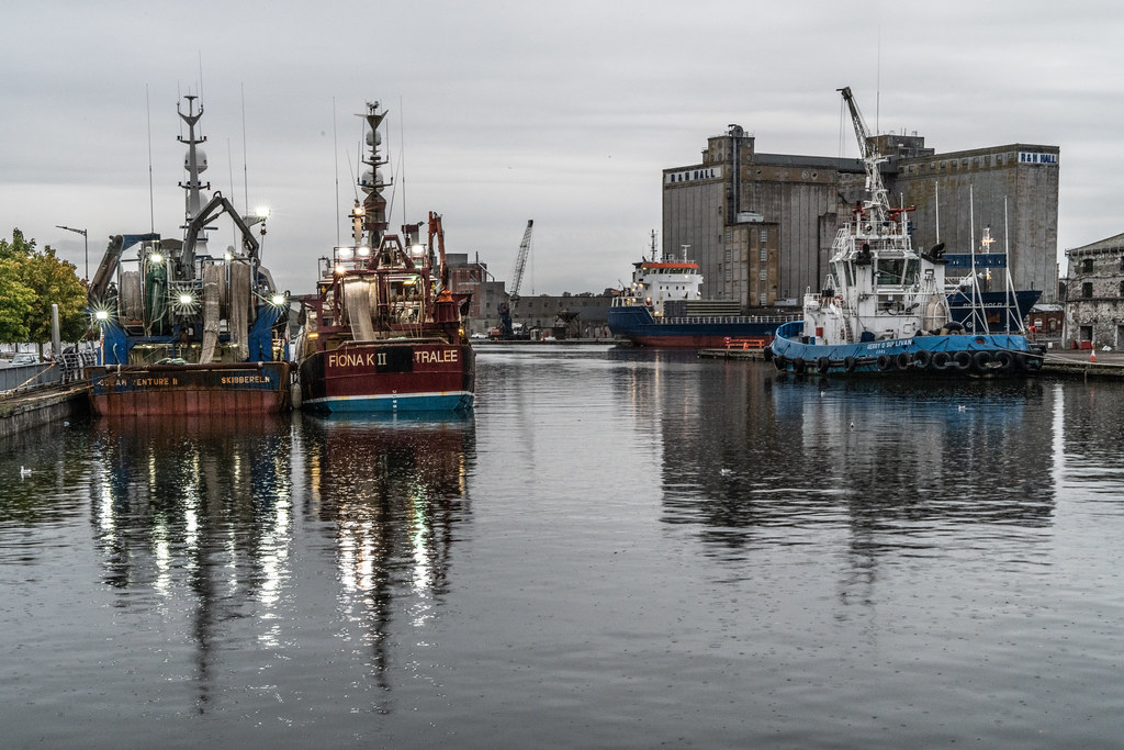 TWO TRAWLERS DOCKED AT PENROSE QUAY IN CORK 008