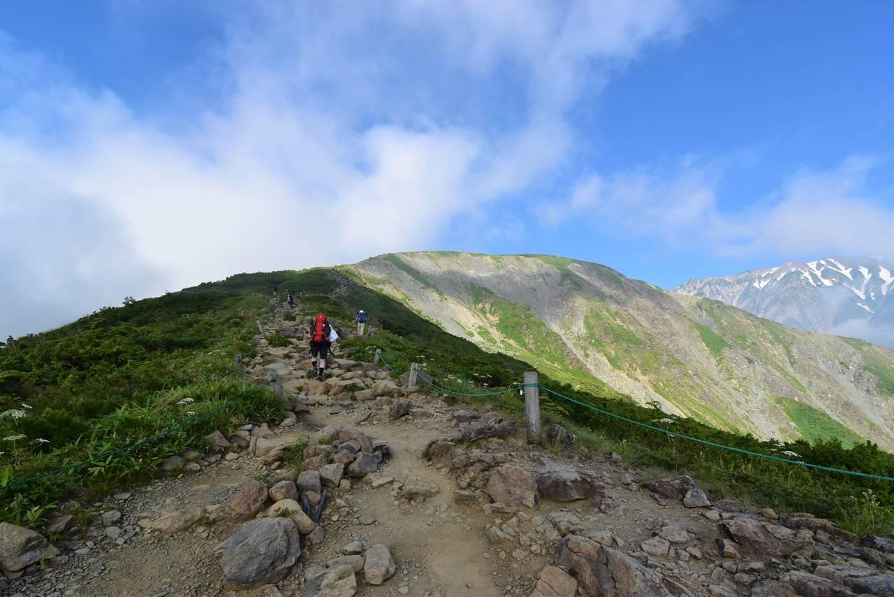 八方尾根・唐松岳登山