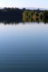 Early autumn lake III