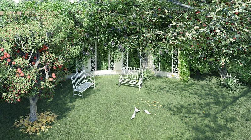 Vườn trái cây nhiệt đới phục vụ cư dân quanh năm