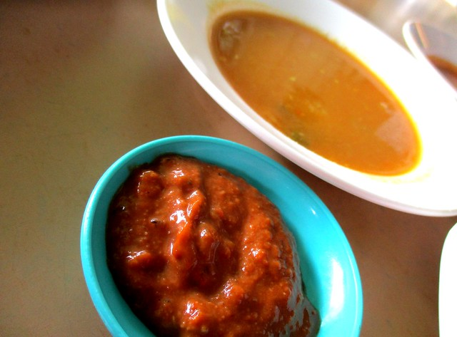 Sri Pelita chutney & dhal dip