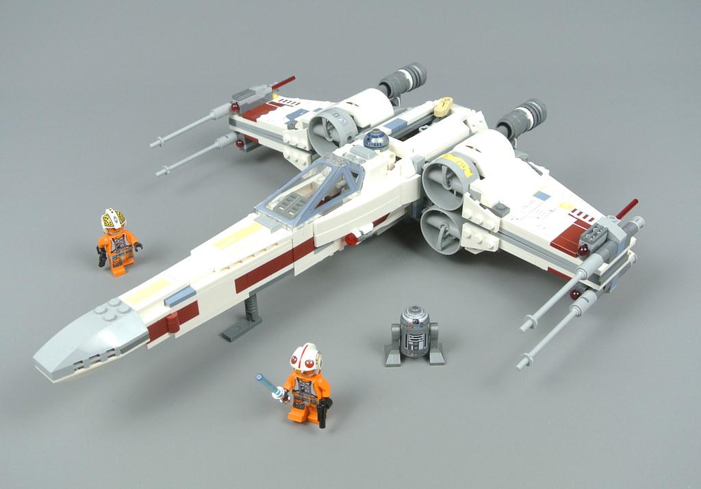Lego Star Wars 75218 X Wing Starfighter Review Brickset Lego Set