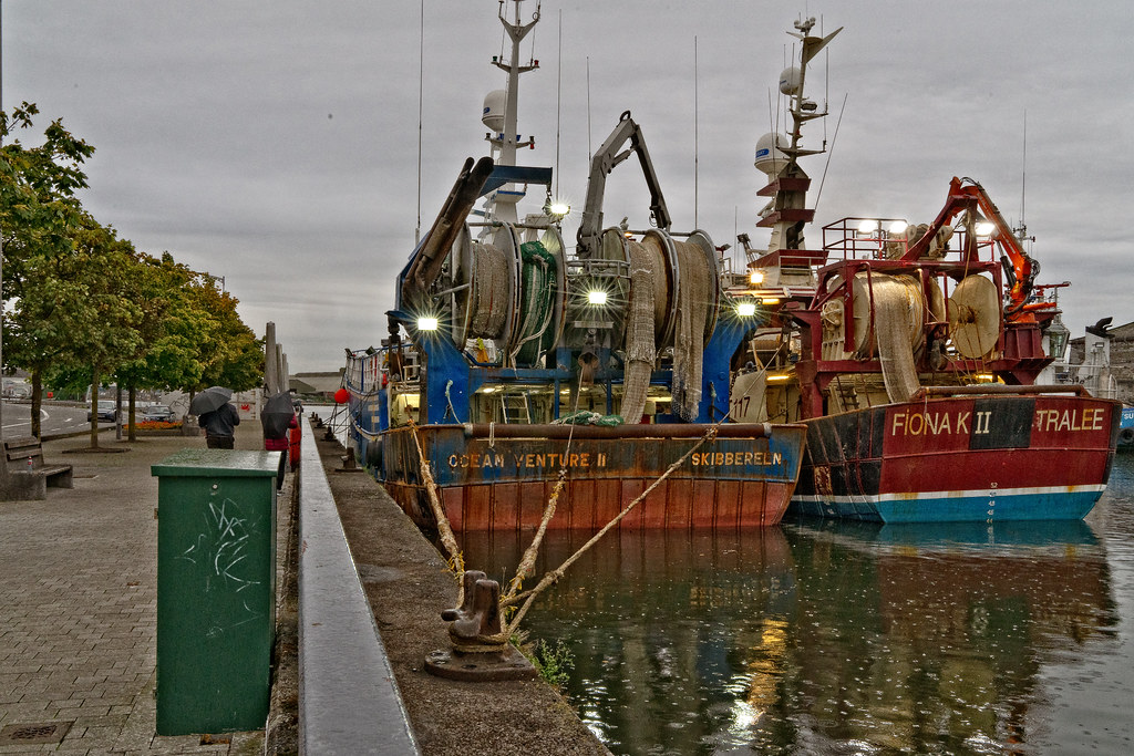 TWO TRAWLERS DOCKED AT PENROSE QUAY IN CORK 009