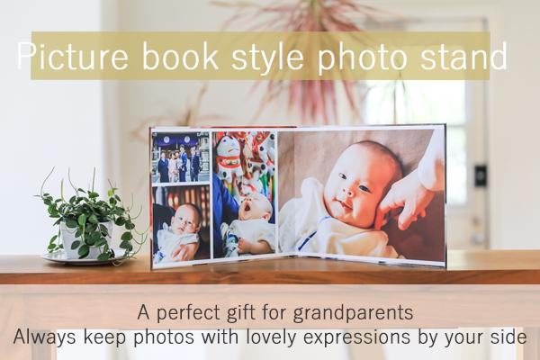 Caravanserai Picture book style photo stand