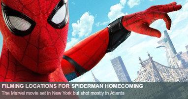 Dónde se rodó Spider-Man Homecoming