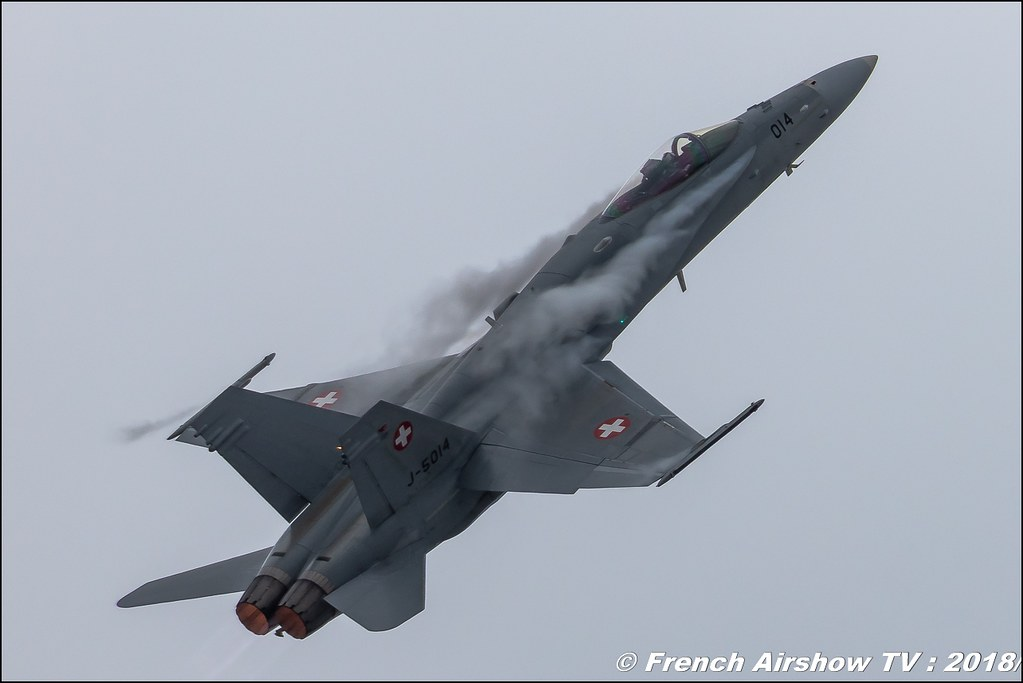 F/A-18 Hornet Solo Display Swiss Hornet Display Team Dittinger Flugtage 2018 Canon Sigma France contemporary lens Meeting Aerien 2018