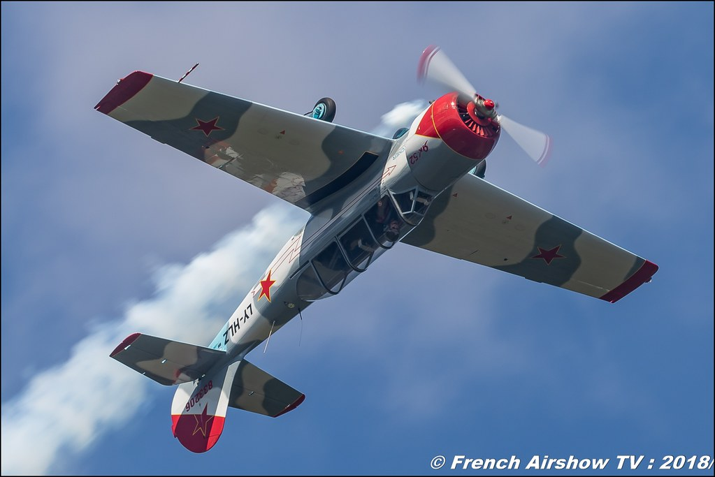 Yak-52 LY-HLZ Dittinger Flugtage 2018 Canon Sigma France contemporary lens Meeting Aerien 2018
